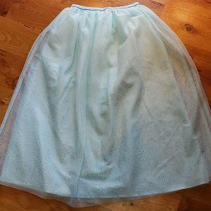 NWOT Cat & Jack Tulle Maxi Skirt, Size 7/8
